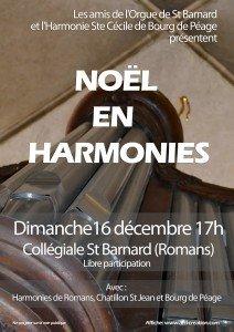 Noël en harmonies - dimanche 16 décembre à 17h00 noel-en-harmonies-212x300
